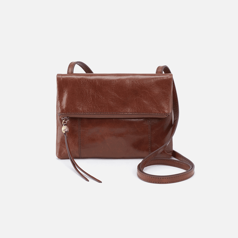 Sparrow Brown Leather Small Crossbody