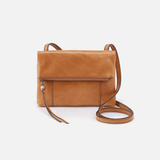 Sparrow Cognac Brown Leather Small Crossbody
