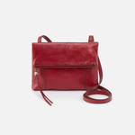 Sparrow Red Leather Small Crossbody