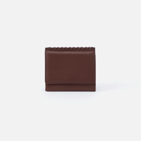 Stitch Brown Leather Wallet