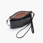 Stroll Black Leather Small Crossbody