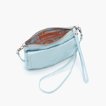 Stroll Blue Leather Small Crossbody