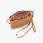 Stroll Cognac Brown Leather Small Crossbody