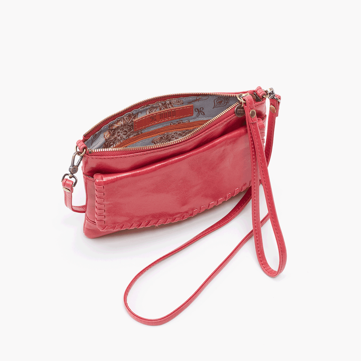 Stroll Pink Leather Small Crossbody