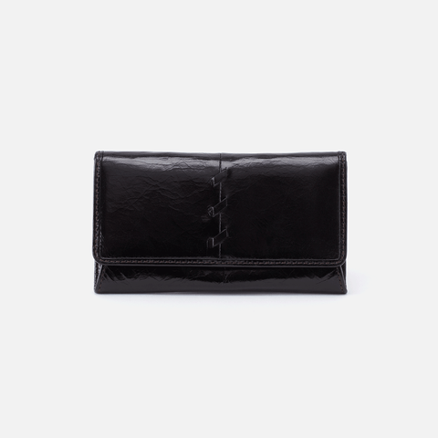 Tally Black Leather Wallet