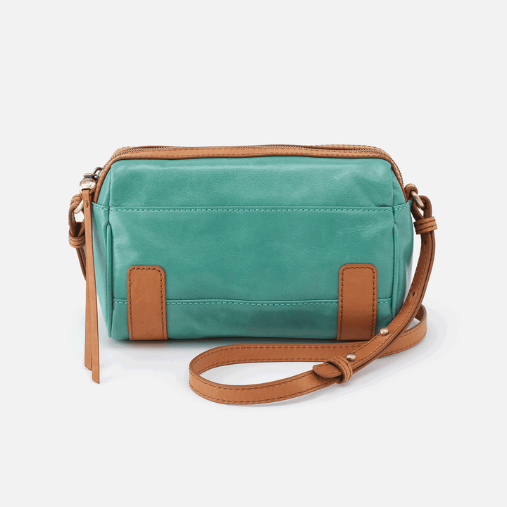 Tandem Seafoam Leather Bike Bag