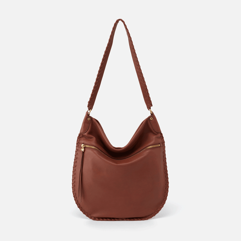 Tide Toffee Leather Shoulder Bag