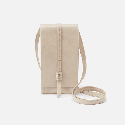 Token Sandshell Leather Crossbody