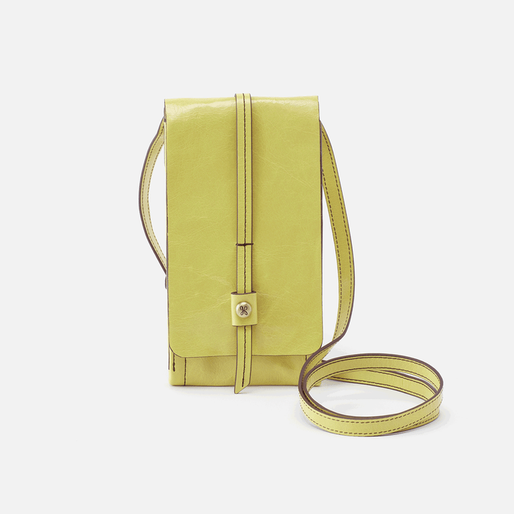 Token Lemongrass Leather Crossbody