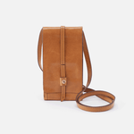 Token Cognac Brown Leather Small Crossbody