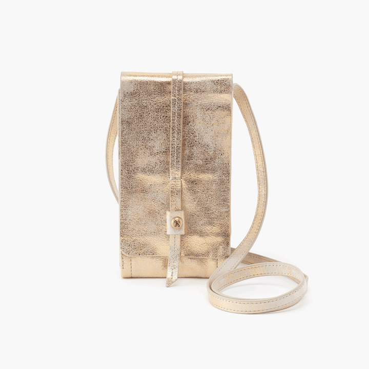 Token Gold Leather Small Crossbody