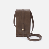 Token Grey Leather Small Crossbody