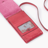 Token Pink Leather Small Crossbody