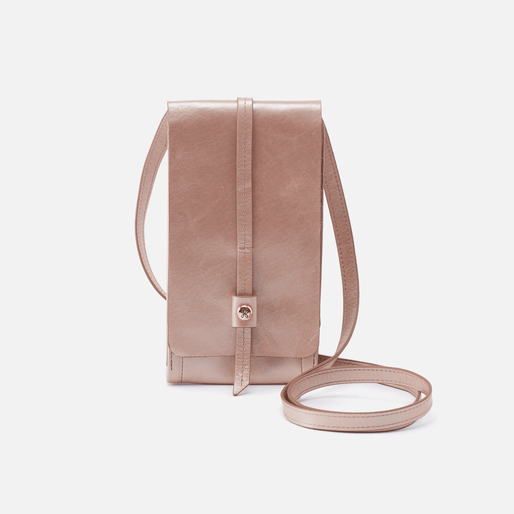 Token Rose Gold Leather Small Crossbody
