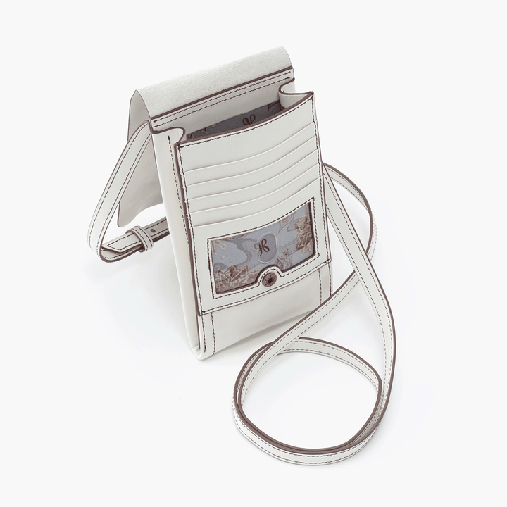 Token White Leather Small Crossbody