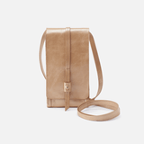 Token Gold Leather Wallet Crossbody