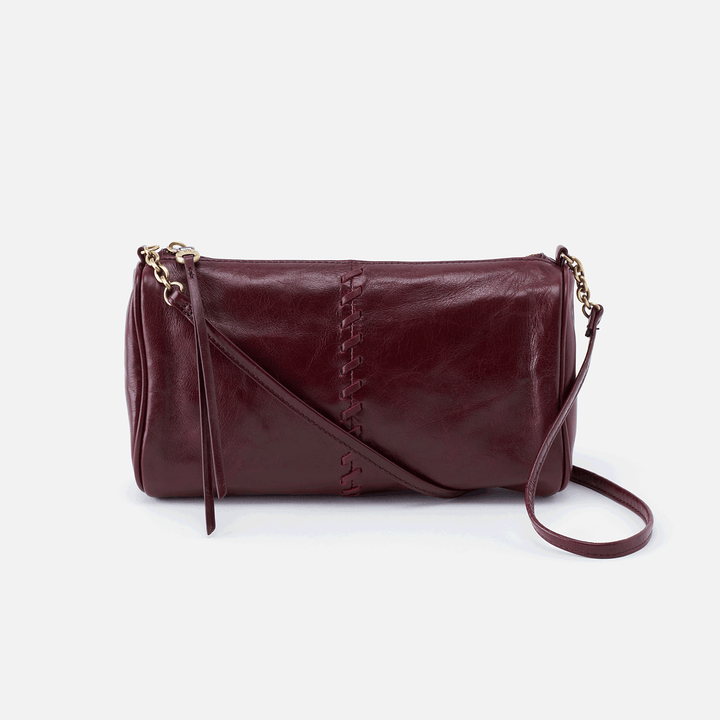 Topaz Purple Leather Crossbody