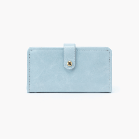 Torch Blue Leather Small Wallet