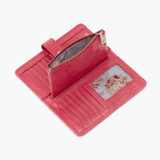 Torch Pink Leather Small Wallet