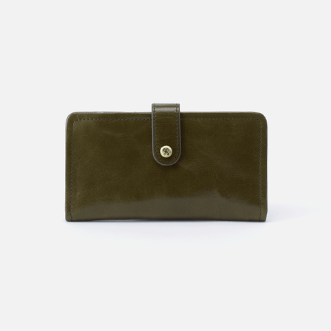 Torch Green Leather Wallet