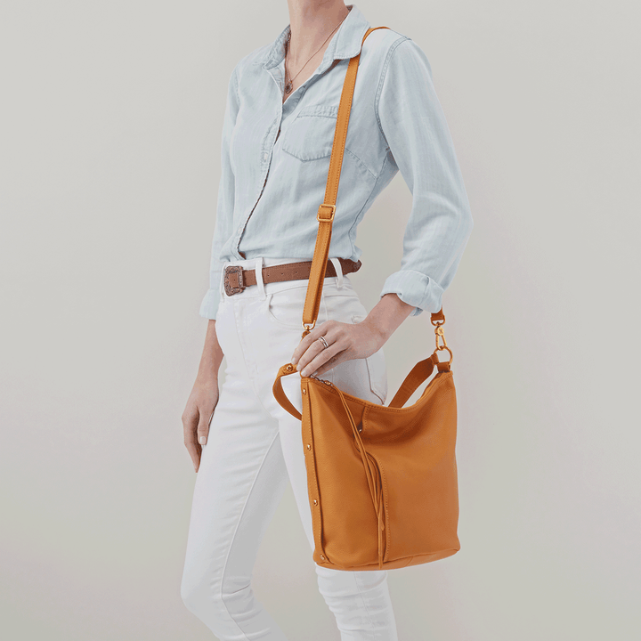Torin Butterscotch Leather Crossbody