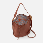 Torin Toffee Leather Crossbody