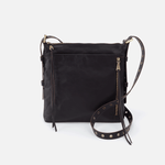 Treaty Black Leather Crossbody