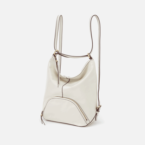 Verse Latte Leather Backpack