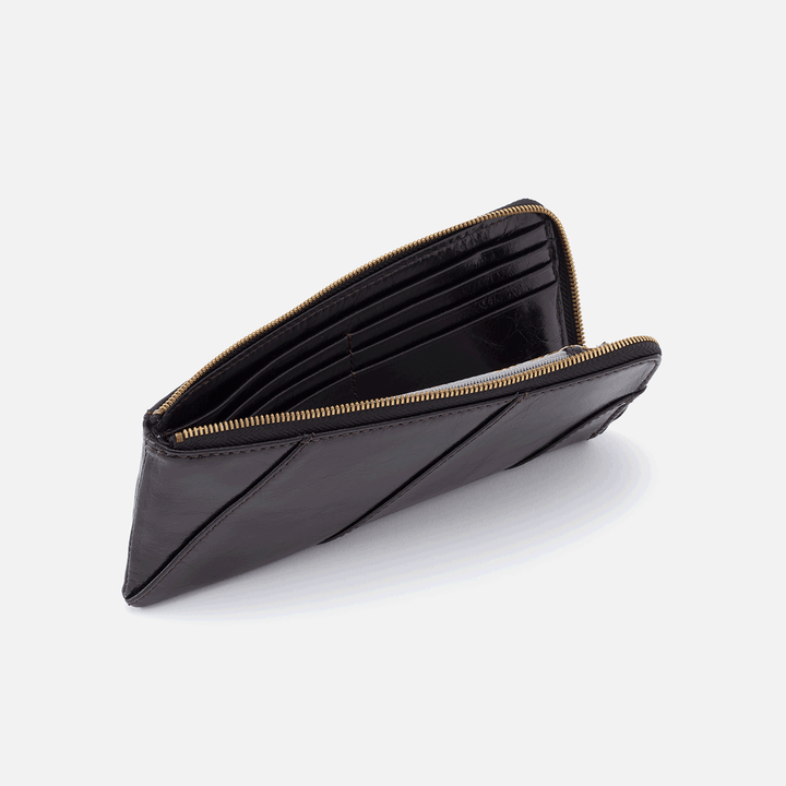 Verve Black Leather Wallet