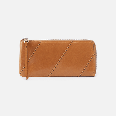 Verve Honey Leather Wallet