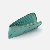 Verve Seafoam Leather Wallet