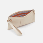 Vida Sandshell Leather Wristlet