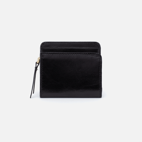 Vim Black Leather Wallet