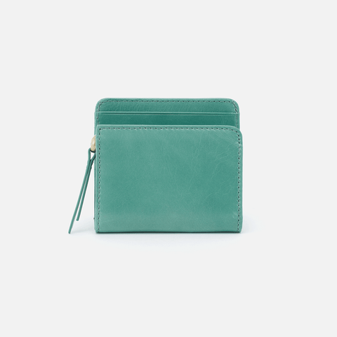 Vim Seafoam Leather Wallet