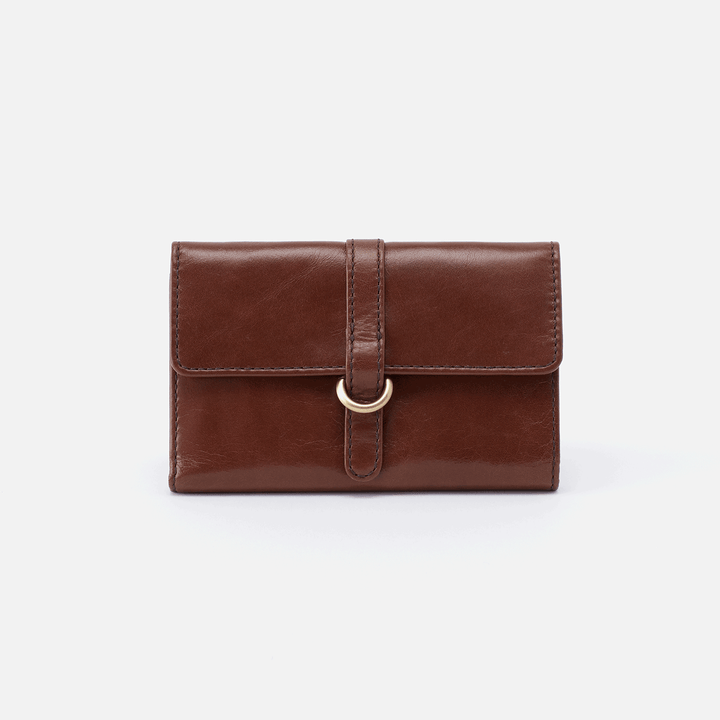 Vinn Brown Leather Small Wallet