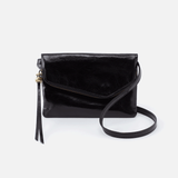 Wink Black Leather Belt Bag