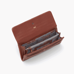 Wonder Brown Leather Large Wallet