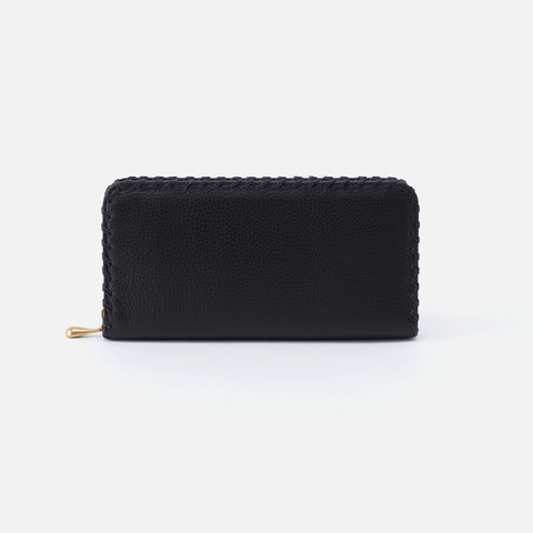 Wynn Black Leather Large Wallet