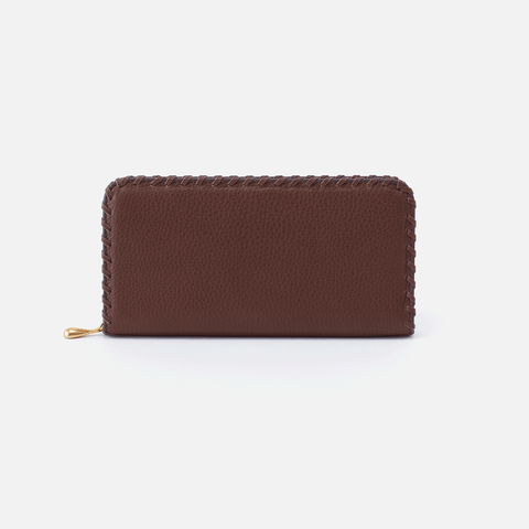 Wynn Brown Leather Large Wallet