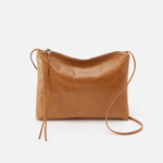 Ziggy Cognac Brown Leather Crossbody