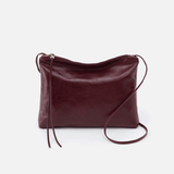 Ziggy Purple Leather Crossbody