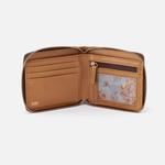 Zippy Honey Leather Wallet