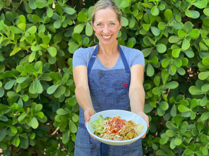 meal prep like a pro: join us for weekly live stream classes with chef Julie