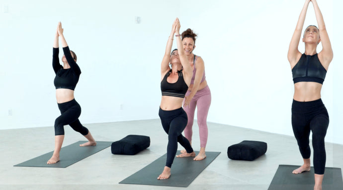 healthy + happy: find your ground with Ahana Yoga founder and fitness pro, Dawn Feinberg