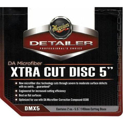 Meguiar's DA Microfiber Finishing Disc,- 5 inch