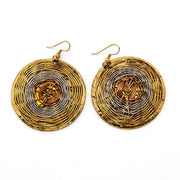 Brass & Copper Earrings