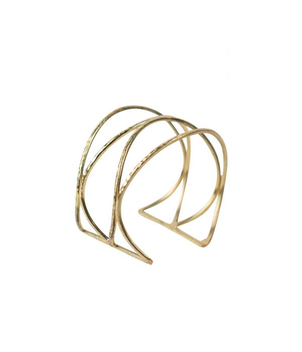 Gold Waves Cuff Bracelet | Fairtrade Certified
