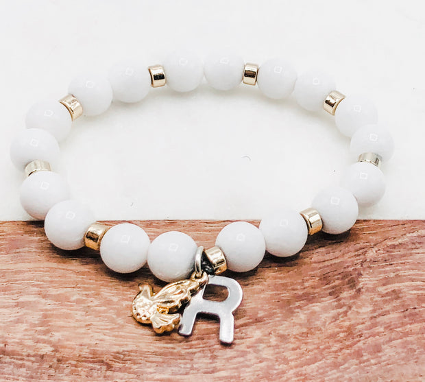 It's All About White -- Ripple Freedom Bracelet