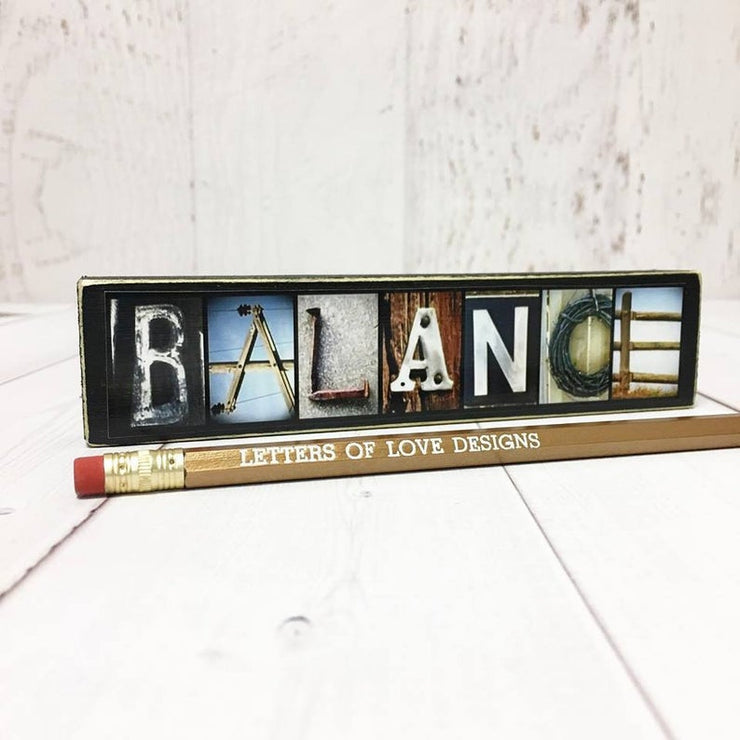 Yoga - Photo Letter Art