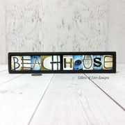 Beachhouse & Life Is Better at the Beach - Photo Letter Art